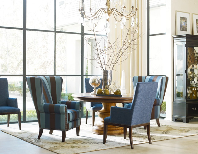 thomasville leather living room set furniture sale round dining table the hills collection end tables