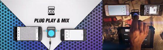 Openmix – A Portable Audio Mixer