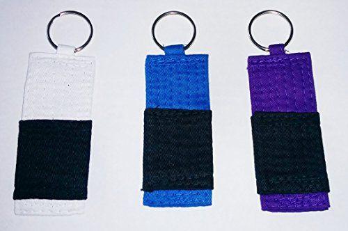 Your Jiu Jitsu Gear Belt Key Chain:   Brazilian Jiu Jitsu Belt Color Key chain