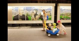 Contentious Grandin Station mural to be reworked after decades of aboriginal protest