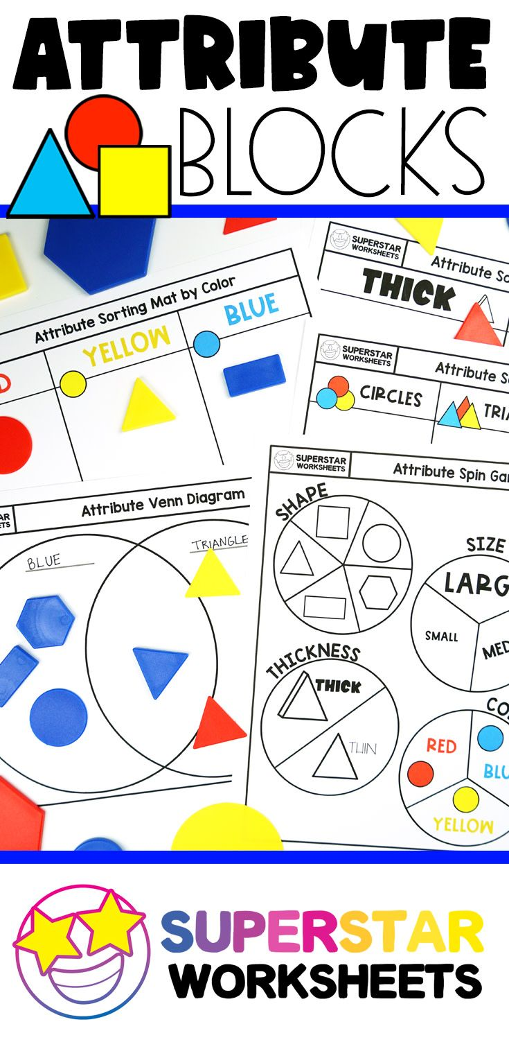 Free Printable Shape Sorting Mats Students Sort And Classify Attribute Blocks By Color Si Shapes Worksheets Math Sorting Activities Pattern Blocks Activities [ 1500 x 735 Pixel ]