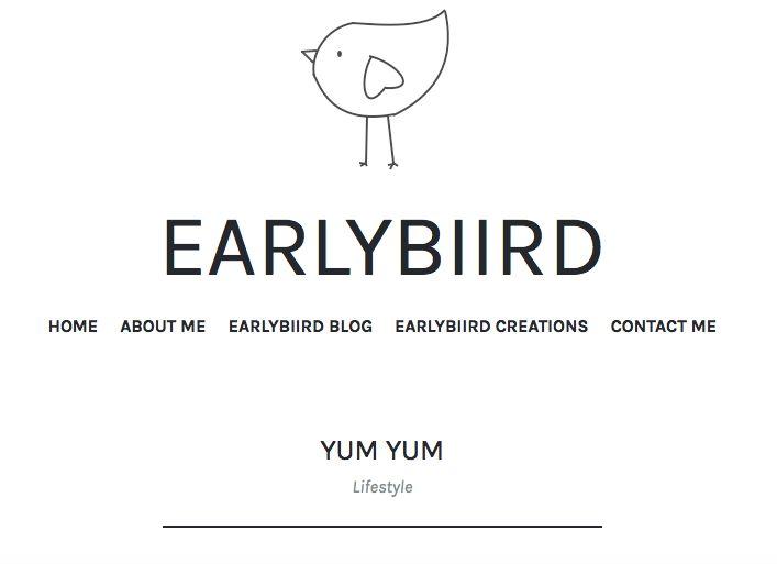 https://earlybiirdblog.com/2017/01/07/yum-yum/