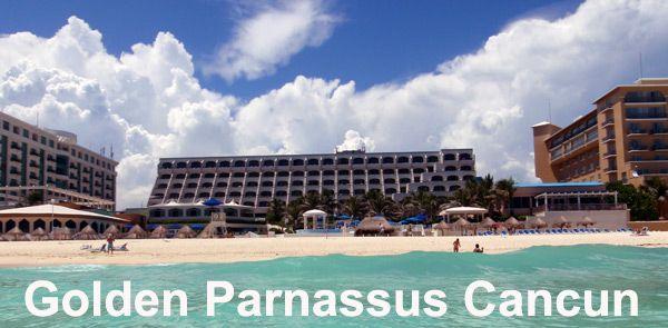 Golden Parnassus Cancun Cancun Beaches Pinterest