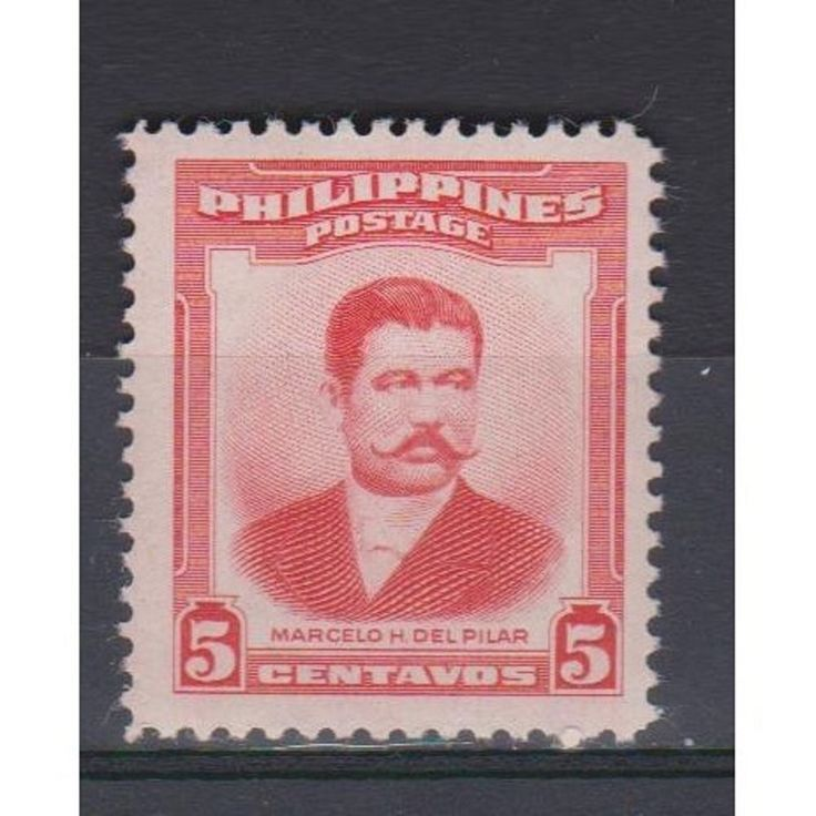 PHILIPPINES MNH Scott #592 Del Pilar single stamp