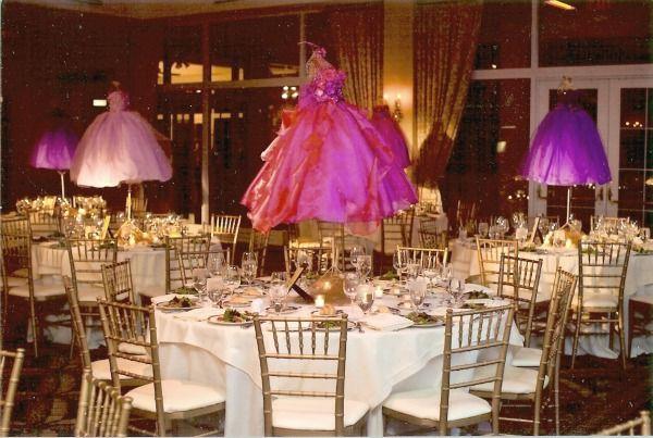 Purple Rose Bat Mitzvah - Pink Dress Form Mannequin ...