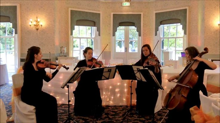 Wedding String Quartet - Canon in D major (Johann Pachelbel)  This is what I want to walk to...<3