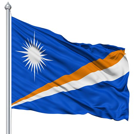 Marshall Islands Flag colors meaning history