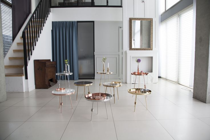 Richarm Table 01  & 02 Gold / silver / rosegold marble table. metal table furniture #design #marble #marbletable #metal #interiordeco #sidetable #furniture www.richarmgroup.com