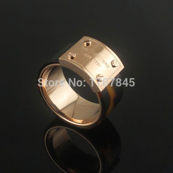Aliexpress.com : Buy 2015 New brand women rose gold plated rings 18k 316l stainless steel brand rings (1117) from Reliable steel quick suppliers on ZIKK Brand Jewelry wholesale | Alibaba Group