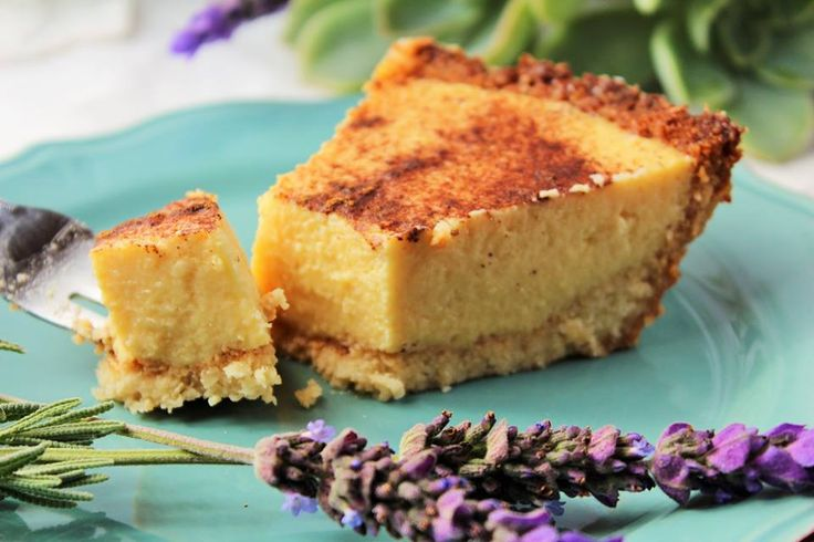 Banting/Low Carb Milk Tart -Traditional South African dessert | Jax of the Bushveld