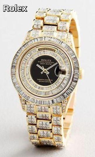 Rolex .... with a few diamonds