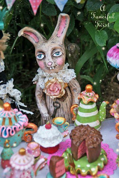 Mad tea party - art dolls - VanessaValencia.Com