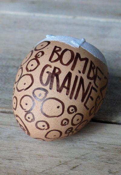 ces bombes à graines vont faire pleuvoir des fleurs