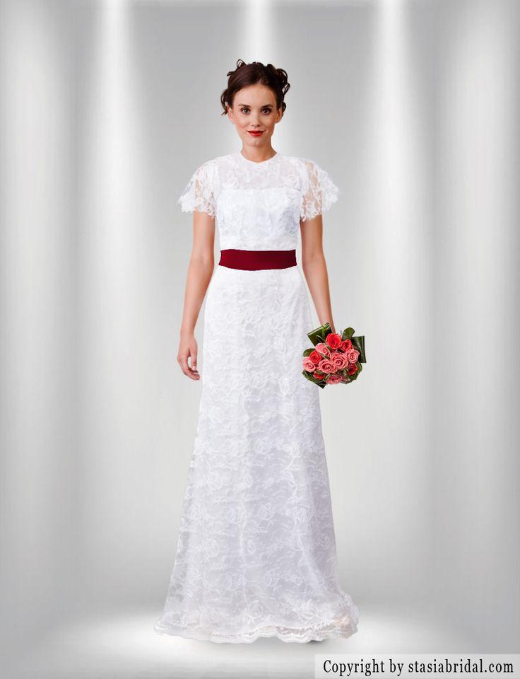 I create my wedding gown on stasiabridal.com