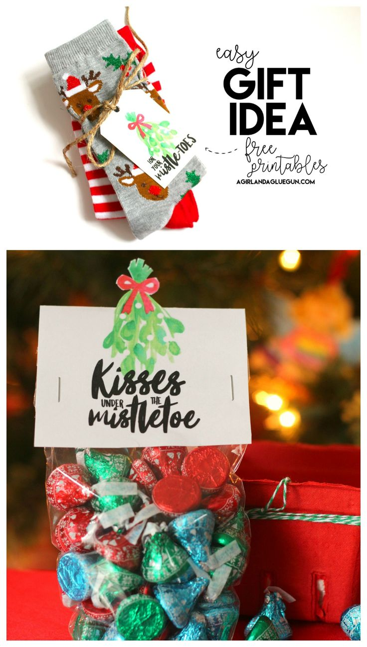 Where in the world was mistletoe first hung as a christmas decoration - Mistletoe Gift Ideas Free Printables