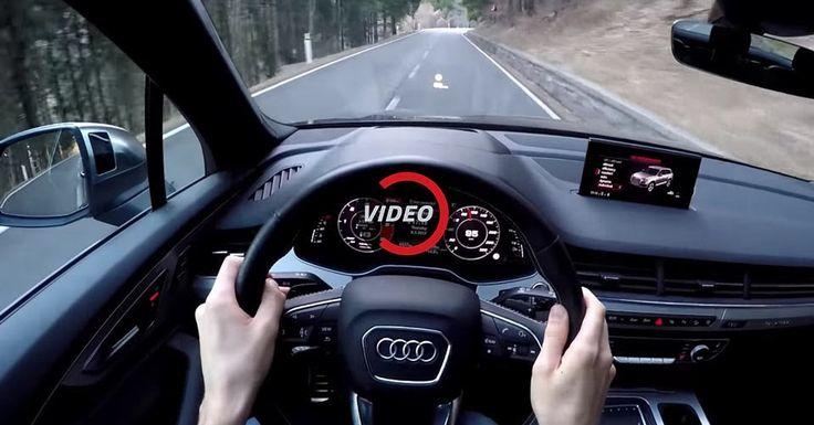 Experience The Audi SQ7's V8 Diesel On A Twisty Road #Audi #Audi_SQ7