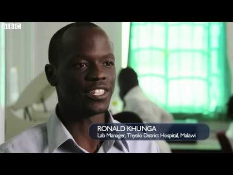 From finger to lab: Keeping track of HIV in Malawi | BBC News Today  | 2...