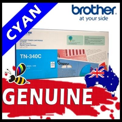Brother TN340 Cyan Toner Cartridge