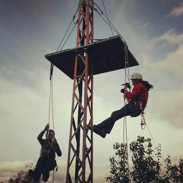 Tırmanış-iniş eğitimi