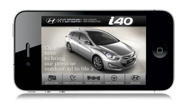 Hyundai i40 App (pre-iOS 7)