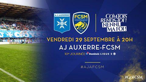 🦁FC Sochaux-Montbéliard🇫🇷  🦁FC SOCHAUX GREEK FANS🇬🇷 AJ Auxerre-FC Sochaux-Montbéliard⚽️ #MATCH ⚽️🦁 Comment suivre AJ Auxerre-FC Sochaux-Montbéliard ? 📅 Vendredi 29/09/17 ⌚️ 20h  🏟️ Stade Abbé Deschamps 📺 Multiplex sur beIN SPORTS 1 et en intégralité sur beIN SPORTS 5 ➡️ Live-Tweet sur @FCSM_officiel  ➡️ Temps forts sur Facebook/FCSM.officiel ➡️ Feuille de match et après-match sur www.fcsochaux.fr