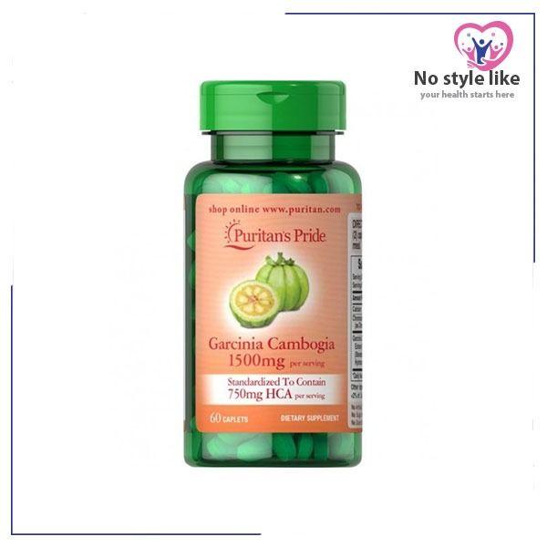 Garcinia Cambogia Capsules 1500 Mg 60 Tabs Garcinia Cambogia Garcinia Vitamins Supplements