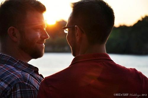 NYC gay engagement