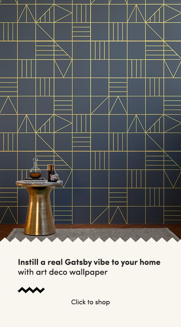 Grid Classic Triangles Wallpaper Mural Interior Design Ideas Art