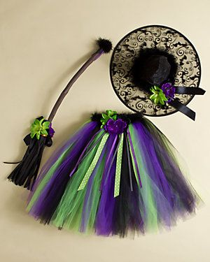 cute tutu witch costume