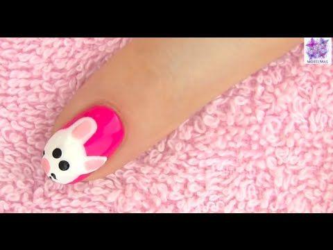 Tırnak Boyama sanatı miki fare deseni -  Nail art Mickey Mouse design