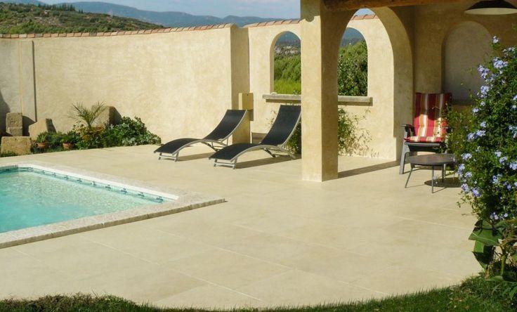 24 best Dalles / Dallage images on Pinterest Frances o\u0027connor - pose carrelage terrasse sur dalle beton