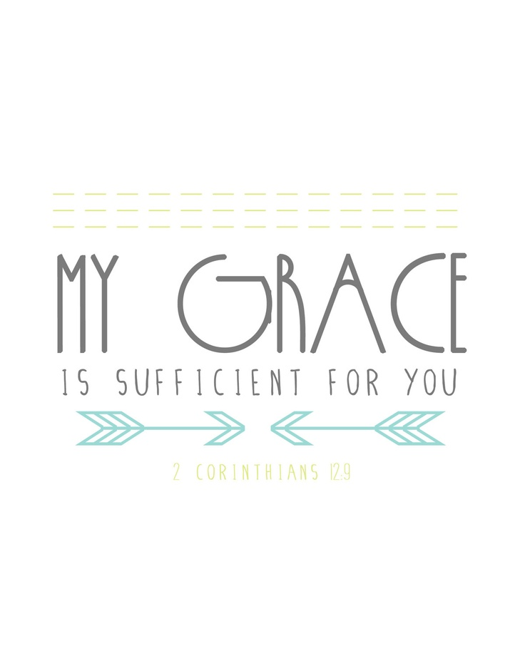 2 Corinthians 12:9. Thank You Lord Jesus !!!!!!!