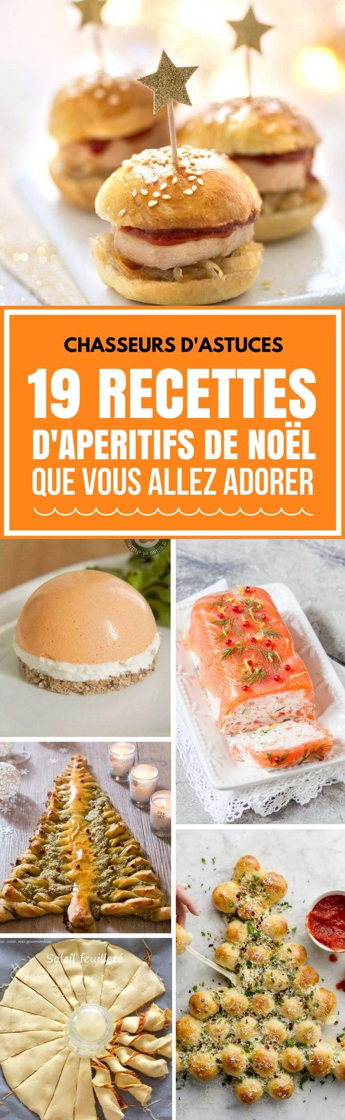 19 RECETTES D'APÉRITIFS DE NOËL QUE VOUS ALLEZ ADORER. #noël #chasseursdastuces #apéritifs #apréritifsdenoel #recettes