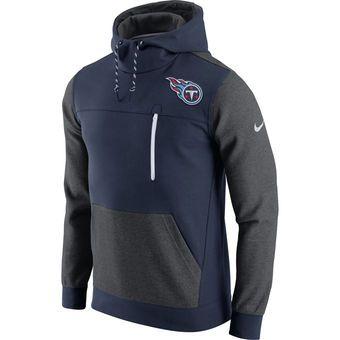 Men's Tennessee Titans Nike Navy AV15 Fleece Pullover Hoodie