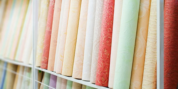 You can find a huge variety of sizes and shapes of wallpaper at your local Normandeau Window Coverings gallery – not what you'd expect for a wallpaper store, it's true!