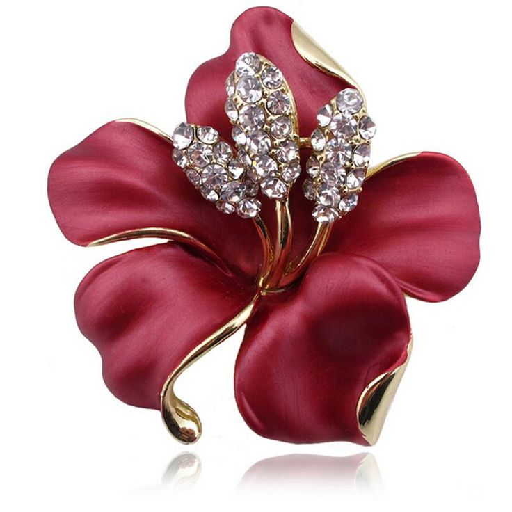 DIEZI Fashion Korean Rose Flower Enamel Women Brooches For Wedding Scarf  Bouquet Brooch. Item Type: BroochesFine or Fashion: FashionShape\pattern: PlantModel Number: BroochesBrand Name: DIEZIStyle: TrendyMaterial: ResinMetals Type: Zinc AlloyGender: WomenBrooches Type: BroochesWeight: About 25gSize: 5*5is_customized: Yes