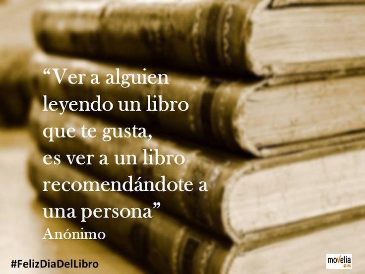 #FelizDiaDelLibro