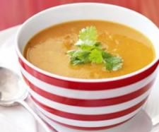 Thermomix | Thai coconut, sweet potato & lentil soup