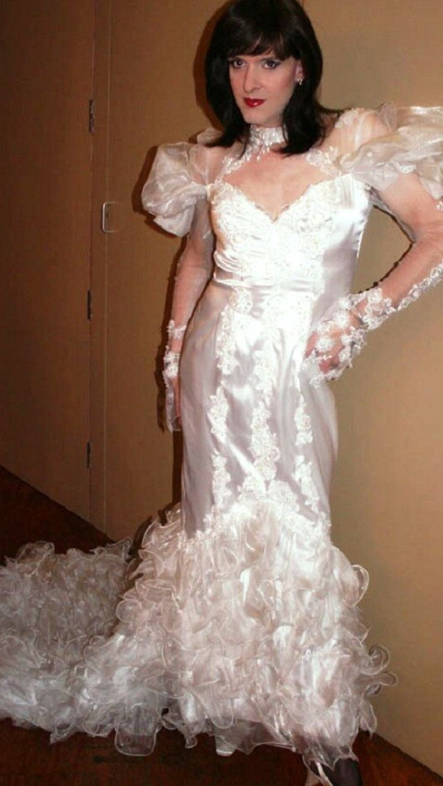 Crossdresser Lady Bride 12