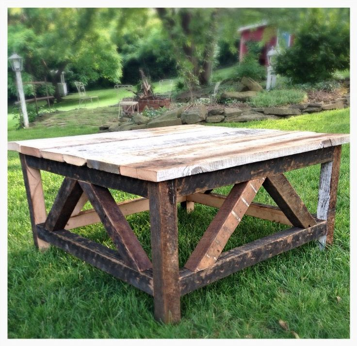 Rustic Wood Pallet Coffee Table: Best 25+ Rustic Coffee Tables Ideas On Pinterest