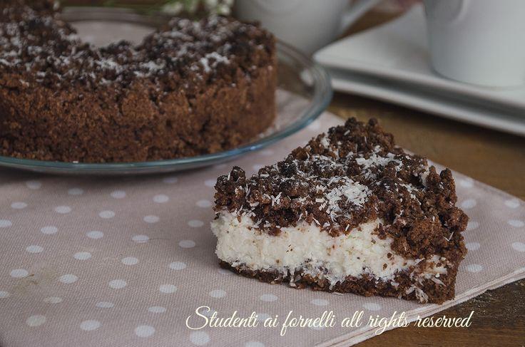 Sbriciolata cioccolato e cocco
