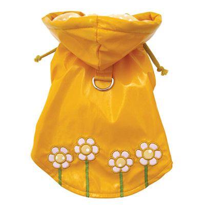 Polka Dot & Daisy Dog Raincoat $34.00