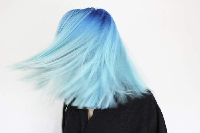 Never gonna dye my hair like this, but this looks really pretty!