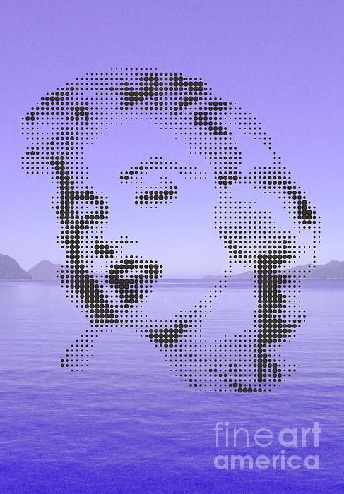 marilyn on the lake
