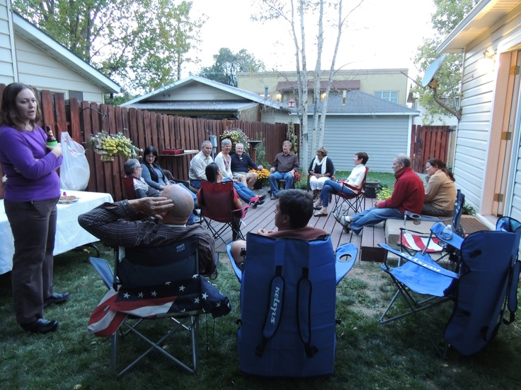 Informal get together for some of the Elevate speakers in Eagle CO