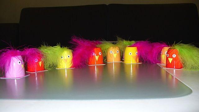 Traktatie voor de crèche: Danoontje vogeltjes. #traktatie #Danoontje #creche