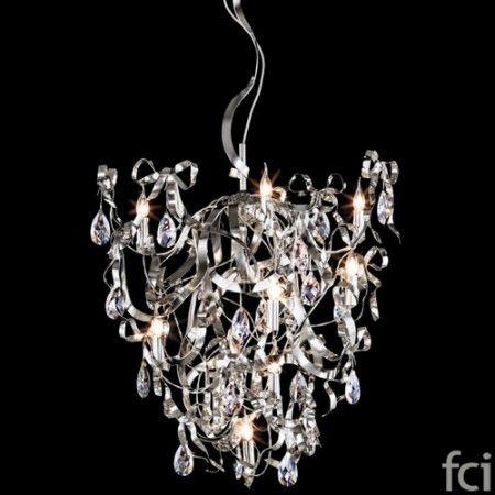 Miss Bow MBC85N #ChandelierLamp by #BrandVanEgmond. Showroom open 7 days a week.  #fcilondon #furniture_showroom_london #furniture_stores_london #Modern_ChandelierLamp #BrandVanEgmond_furniture #BrandVanEgmond_lighting #Elegant_Look