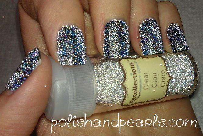 DIY: caviar manicure