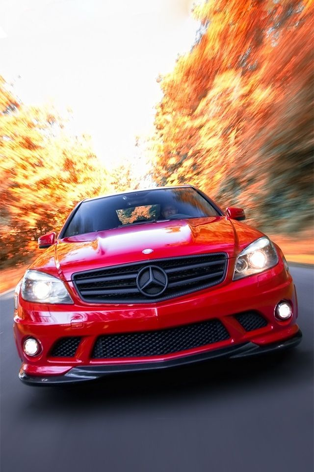 C Class Mercedes Benz Iphone Wallpaper Sports Car