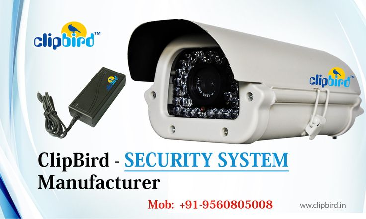 Clipbird formerly known as Vebotix Integrated Technologies is one of the most trusted and well-known CCTV manufacturer, importer and seller of security surveillance products & Solar Systems in India. Clipbird deals in indoor and outdoor CCTV Cameras, AHD Bullet Camera, AHD Dome Camera, IP CCTV camera, Spy Cameras, Network video Recorder and Digital Video Recorders. Call us - +91-9560805008 or email us info@clipbird.in